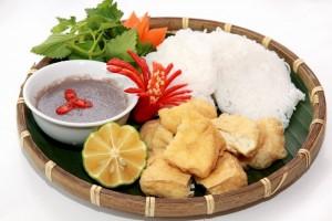"""Vietnam Cuisines - Favorite snack in Hanoi - """"Bun Dau"""""""