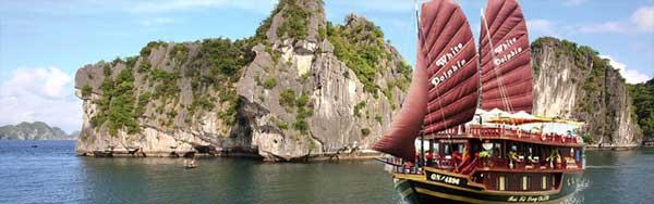 Halong Bay cruises - White Dolphin Cruise
