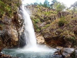 Scenic Ta Gu Waterfall